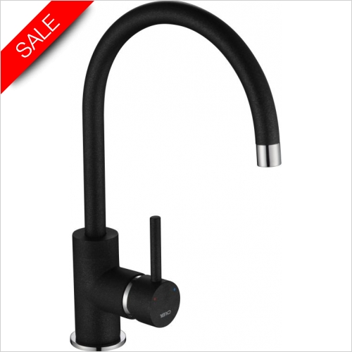 The 1810 Company Taps - Courbe Curved Spout Tap Chrome - Purquartz