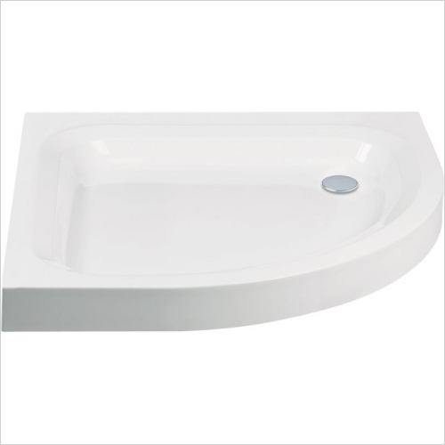 Aquaglass - 900mm Quadrant Shower Tray