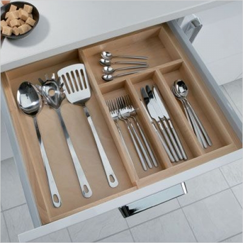 Hafele Storage Solutions - eXTray Cutlery Insert 412/400-600mm