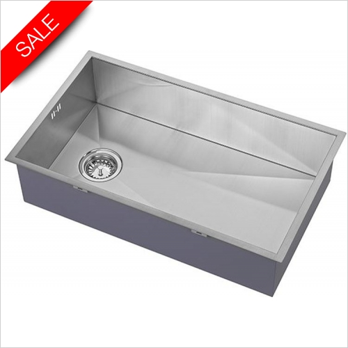The 1810 Company Sinks - Zenuno 700U Undermount Sink With Offset Waste