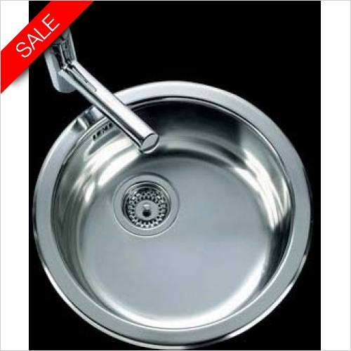 Clearwater Kitchen Sinks - Arco Round Bowl Linen