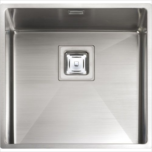 Rangemaster Sinks - Rangemaster Atlantic Kube KUB40 Single Bowl Sink