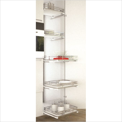 Sige Storage Solutions - Infinity Plus Apollo Pull-Out Basket 600mm, 180mm H SIGE