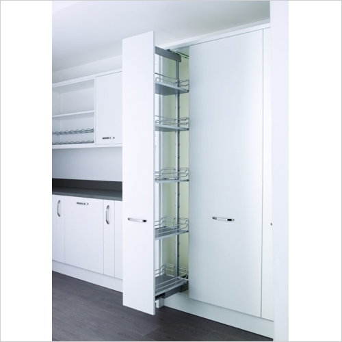 Kessebohmer - Arena, 300mm Full Extension Larder Unit, 1800-2200mm High