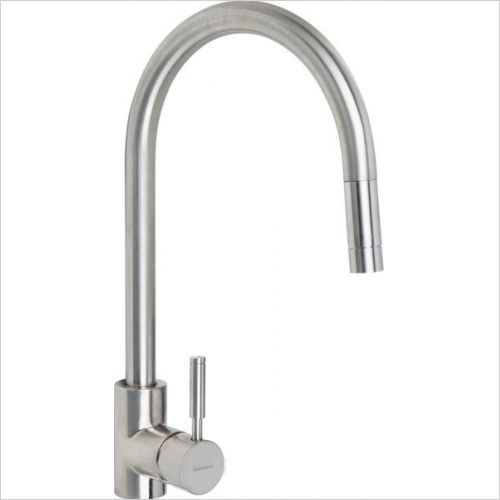Rangemaster Taps - Rangemaster Aquatrend TRE1SLPOBF Single Lever Pull Out Tap