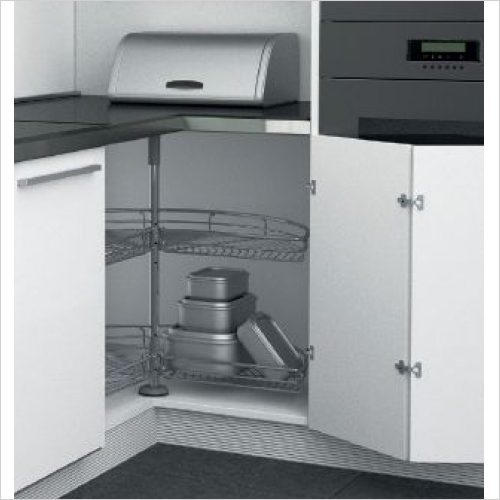 Sige Storage Solutions - Carousel For 90 Cut Out 900 x 900mm SIGE