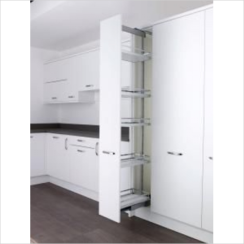Kessebohmer - Arena Style, 300mm Full Extension Larder Unit, 1800-2200mm H