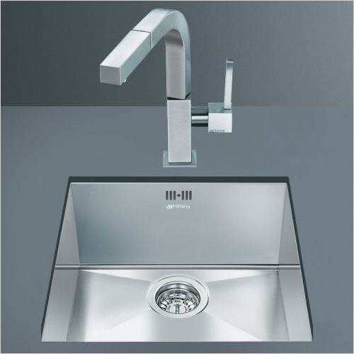 Smeg Sinks - Smeg VSTQ40-2 Quadra Undermount Single Sink 420mm