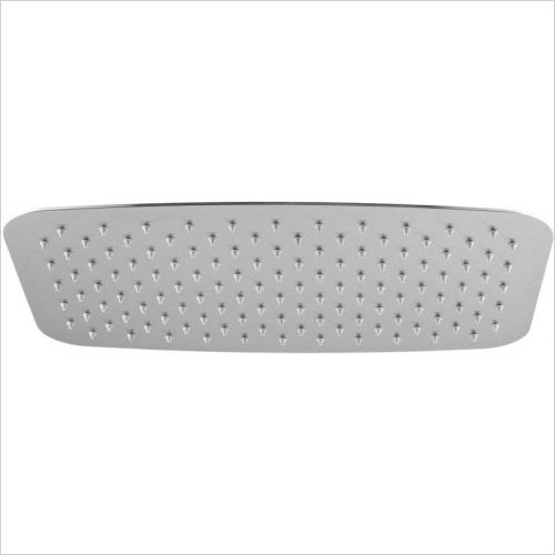 Aquaflow Italia - Rectangular Ultra Thin Shower Head 400x250mm MP