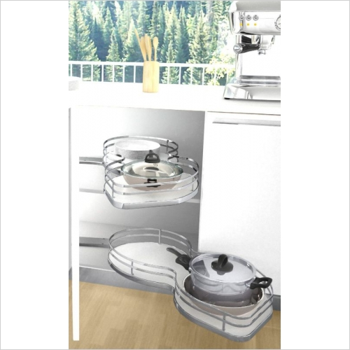 Sige Storage Solutions - Infinity Plus Nuvola 2 450mm LH Door SIGE