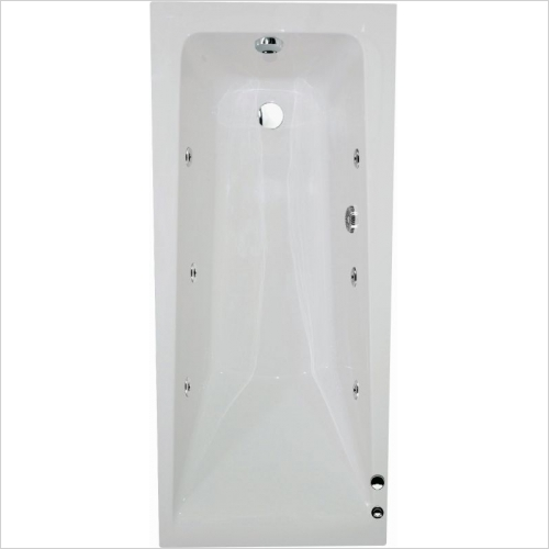 Aquabathe - Atlanta 1700 x 700mm 6 Jet Whirlpool Bath
