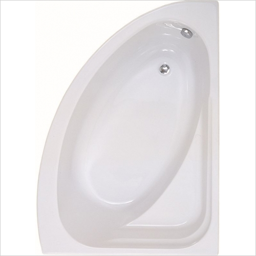 Aquabathe - Orlah 1500 x 1040mm Offset Corner Bath RH
