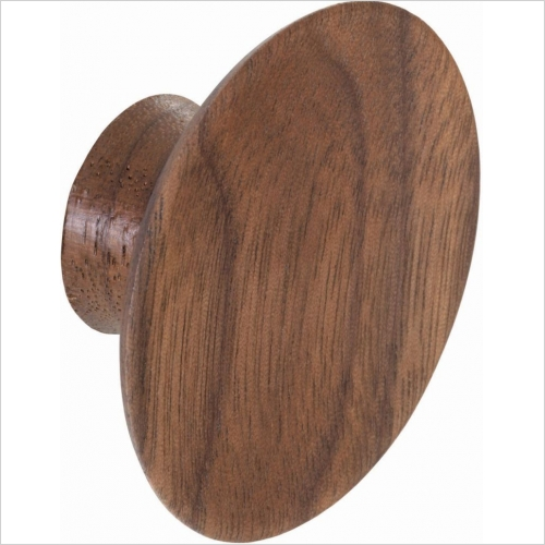 Second Nature Handles - Knob Concave 50mm Diameter