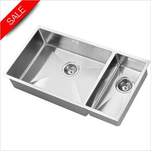The 1810 Company Sinks - Zenduo 15 550/200 Sink LH Bowl