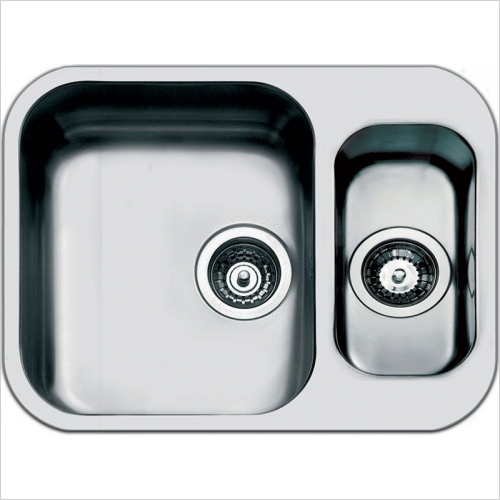 Smeg Sinks - Smeg Alba Undermount 1.5 Bowl Sink 581mm