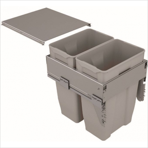 Sige Recycling Bins - Inter-Bin 450mm Wide Unit, 70ltr Capacity