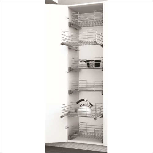 Sige Storage Solutions - Standard Pull-Out Basket 600mm, 180mm H Sige