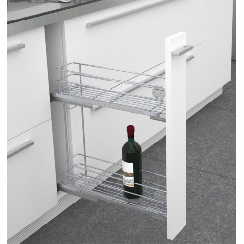 Sige Storage Solutions - Classic Narrow Pull-Out 150mm Wide Unit