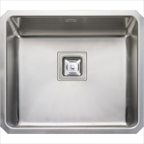 Rangemaster Sinks - Rangemaster Atlantic Quad QUB48 Single Bowl Sink