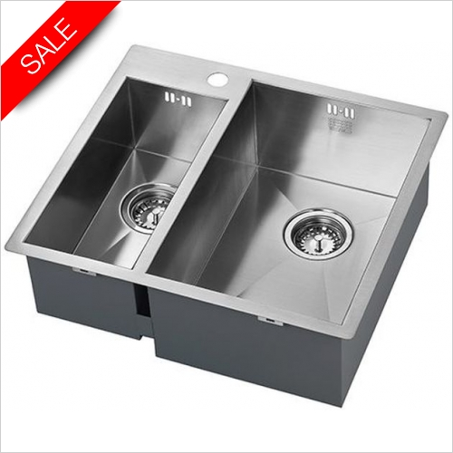 The 1810 Company Sinks - Zenduo 180/310 I-F BBR Undermounted Sink