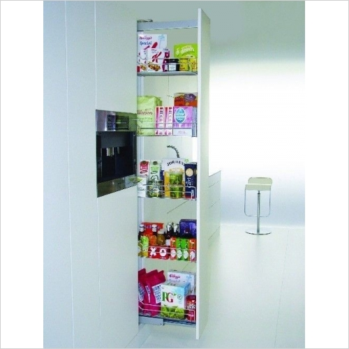 Kessebohmer - Classic 500mm Full Extension Larder Unit, 1800-2200mm High