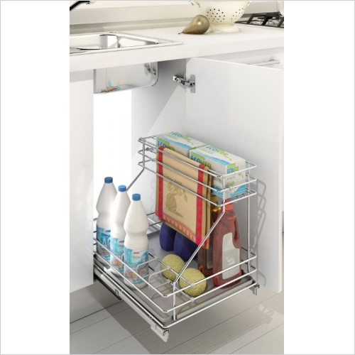 Sige Storage Solutions - Classic Under-Sink Organiser, Mimimum 450mm Wide Unit