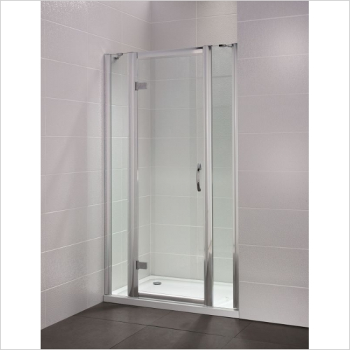 Aquaglass - Identiti2 200mm Hinge Inline Panel