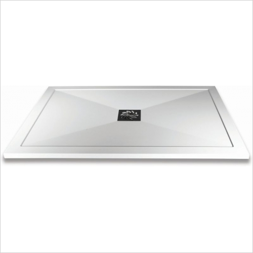 Aquaglass - 1000x800mm Slimline Shower Tray