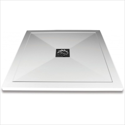 Aquaglass - 900x900mm Slimline Shower Tray