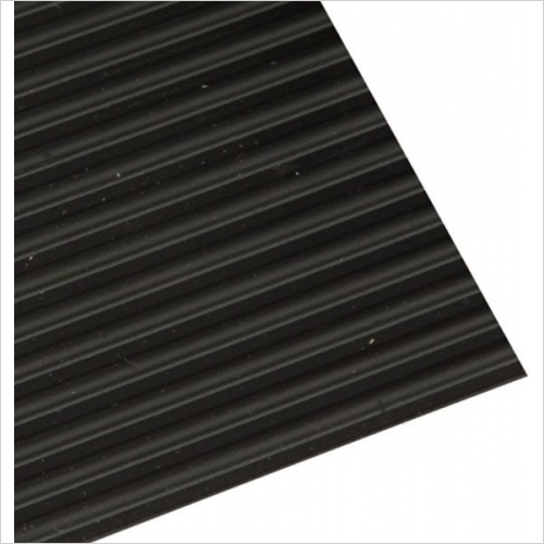 Hafele Storage Solutions - Grooved Drawer Mat 500x2200mm Black
