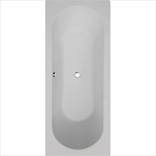Aquabathe - Duo 1700 x 750mm Double Ended Bath