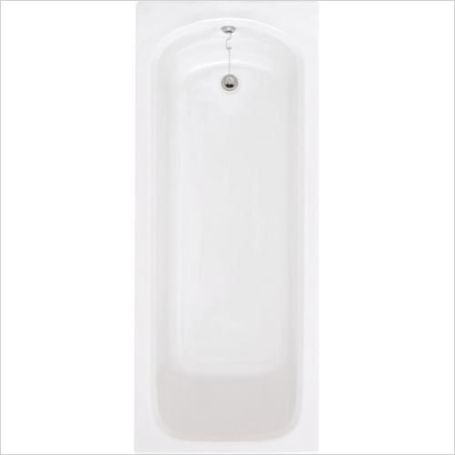 Aquabathe - Compact 1700 x 700mm Twin Grip Bath