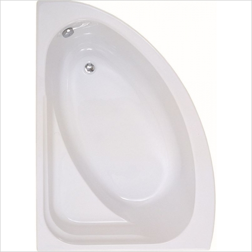 Aquabathe - Orlah 1500 x 1040mm Offset Corner Bath LH