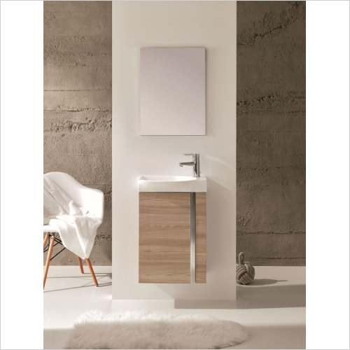Royo - Elegance Wall Hung Cloakroom Unit Pack
