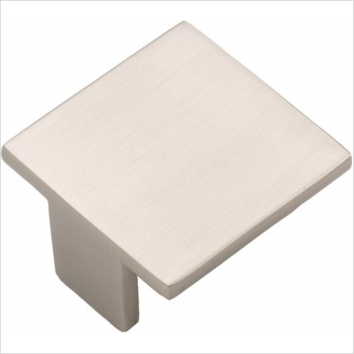 DIY Luxury Kitchens - 79718 Piazza Handle 40 x 40mm, 32mm Centres