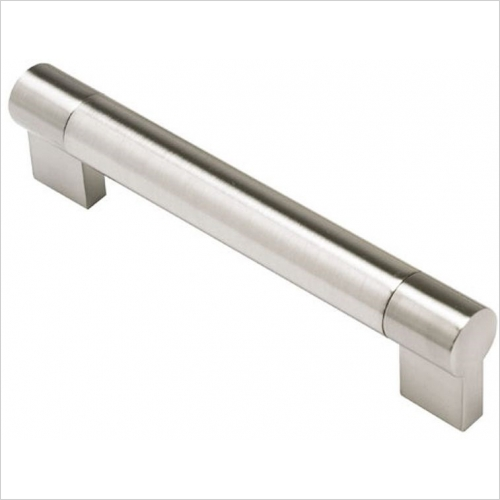 DIY Luxury Kitchens - 77120 Keyhole Bar Handle 156mm Centres 22mm Diameter