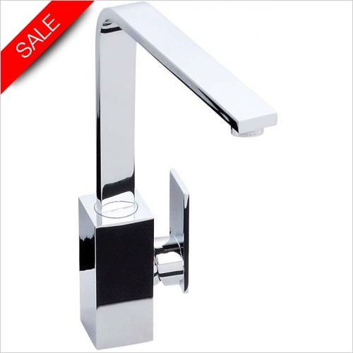 Abode New Media Single Lever Monobloc With Swivel Spout