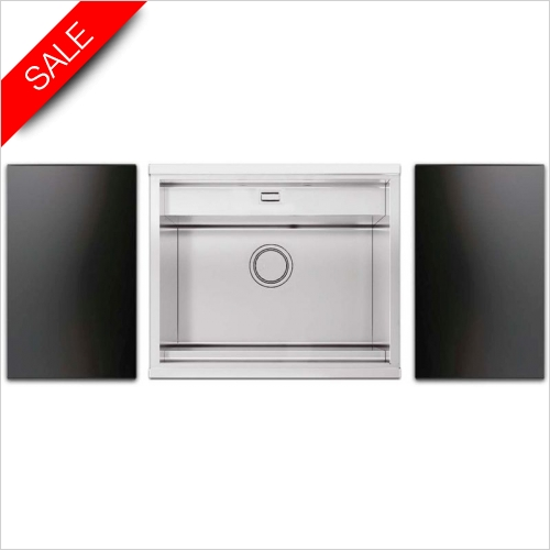 Clearwater Kitchen Sinks - Smooth 60 Single Bowl With Tap