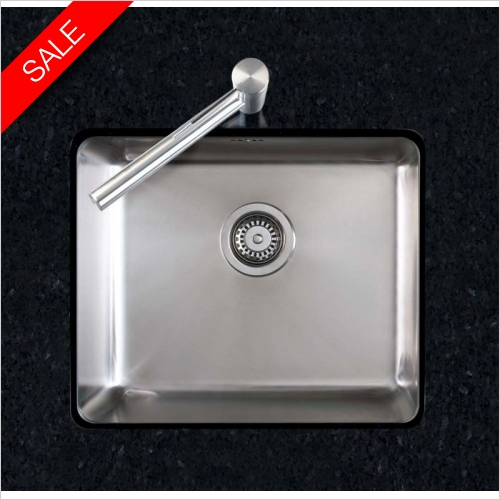 Clearwater Kitchen Sinks - Salsa 1.0 Bowl Sink