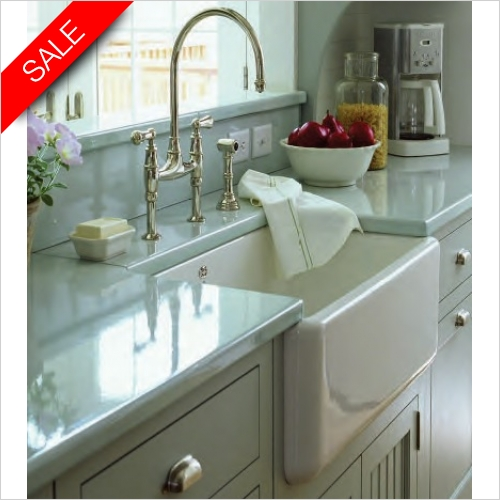 Shaws - Belfast 800 Apron Fronted 1.0 Bowl Sink