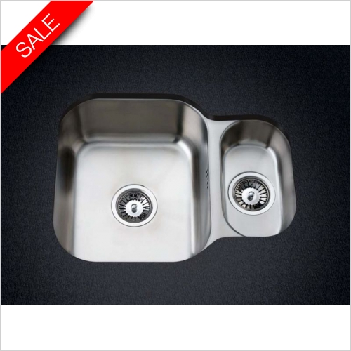 Clearwater Kitchen Sinks - Clearwater Symphony Undermount 1.25 Bowl Sink