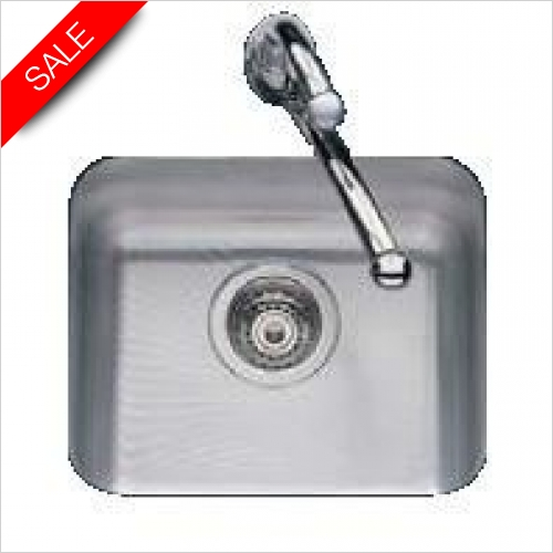 Clearwater Kitchen Sinks - Clearwater Symphony Undermount 1.0 Bowl Sink