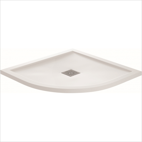 Aquaglass - 900 x 900mm Quadrant Shower Tray