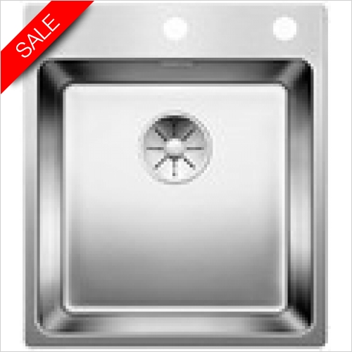 Blanco Sinks - Andano 400-IF/A 1 Bowl Sink, Universal