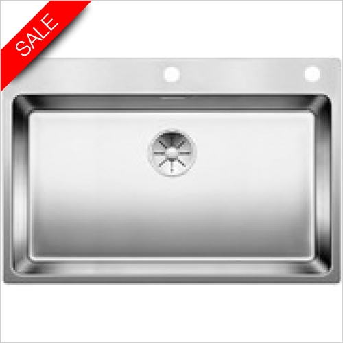 Blanco Sinks - Andano 700-IF/A 1 Bowl Sink, Universal