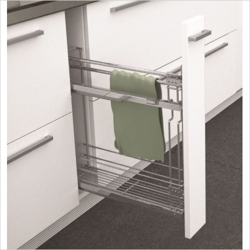 Sige Storage Solutions - Classic Towel Rail Pull-Out, 150mm Wide Unit