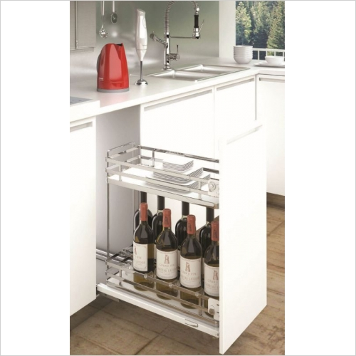 Sige Storage Solutions - Base Pull-Out, 400mm Wide Unit