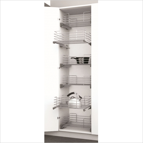 Sige Storage Solutions - Classic Pull-Out Basket 900mm Wide Unit, 180mm Height