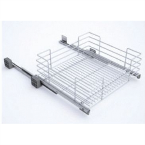 Sige Storage Solutions - Classic Pull-Out Basket 500mm Wide Unit, 220mm Height