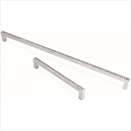 Herbert Direct Handles - Crystal Slimline Handle 325mm